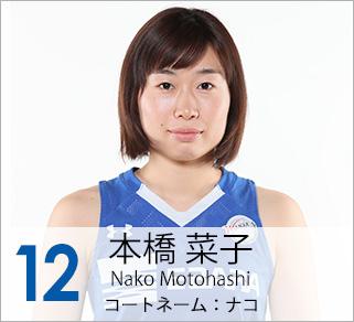 #12 本橋 菜子