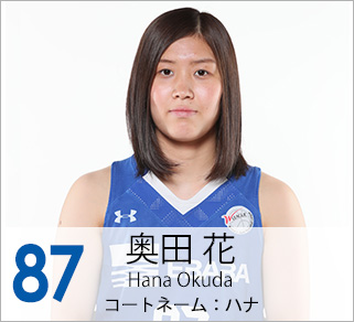 #87 奥田 花