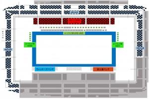開幕戦座席図